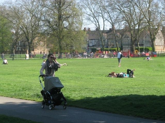 Clapham Parc à Londres