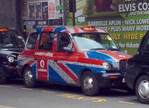Taxi a Londres