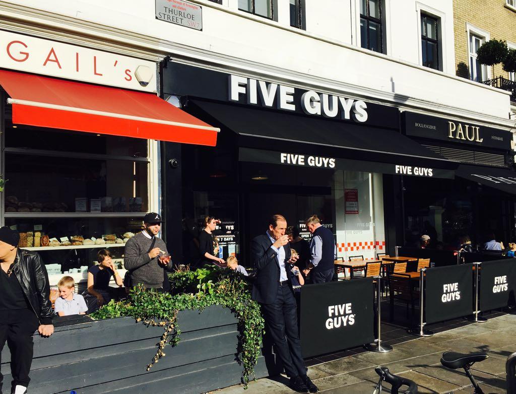Louer un restaurant à Londres
