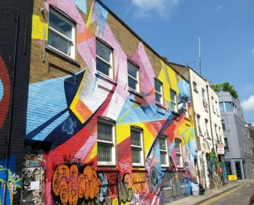 Quartier de Shoreditch et Spitafields