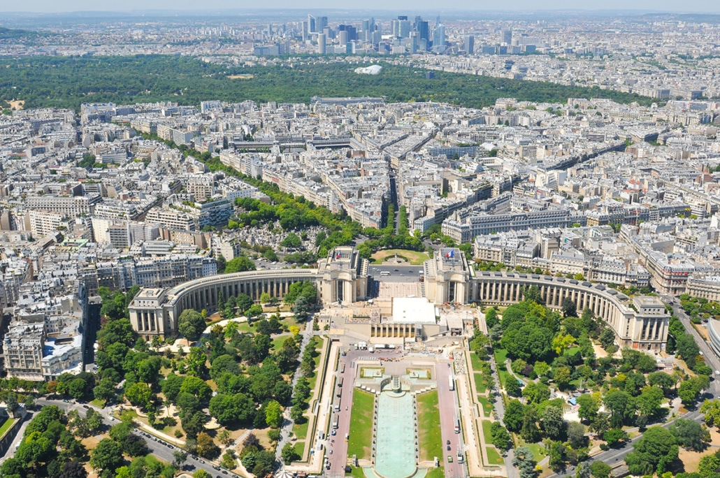 The 16th arrondissement of Paris